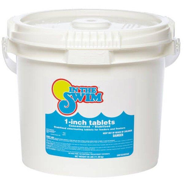 25 Lbs 1 Inch Pool Chlorine Tablets