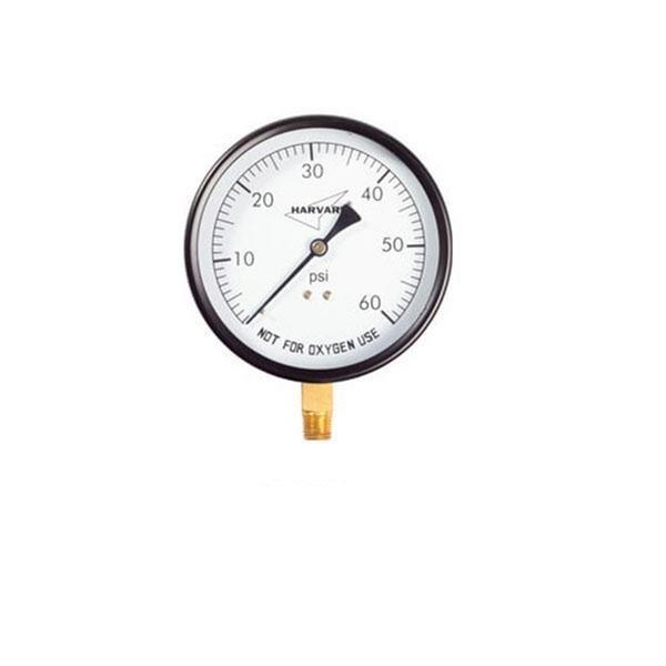 Pool Filter 4 12 Inch Pressure Gauge 0 60 Psi Bottom Mount