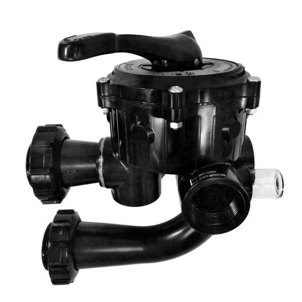 15 Inch 7 Position Hayward Sp710Xr50 Side Mount De Pool Filter Valve