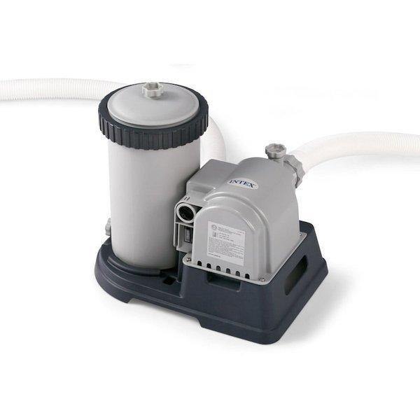 Intex Pool Cartridge Filter Pump Up To 2500 Gallon Pools