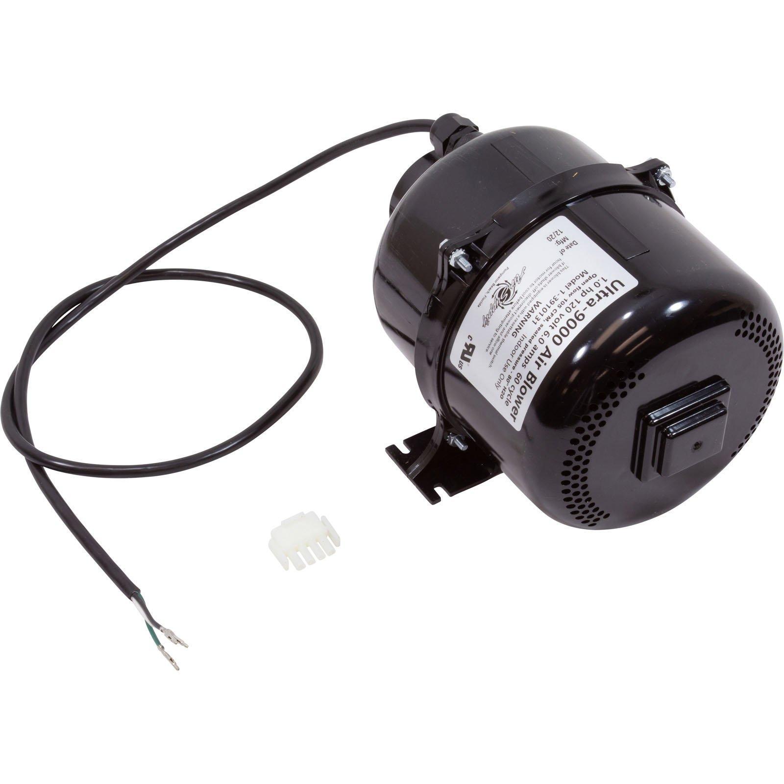 Air Supply Air Blower Ultra 9000 1HP 120V with Amp Plug