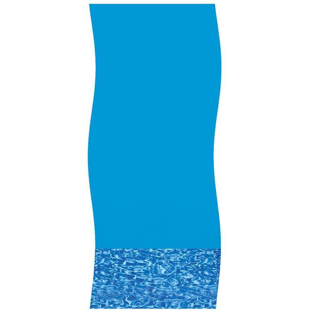 18 Ft X 33 Ft Oval Overlap Above Ground Pool Liner Swirl Floor 25 Gauge