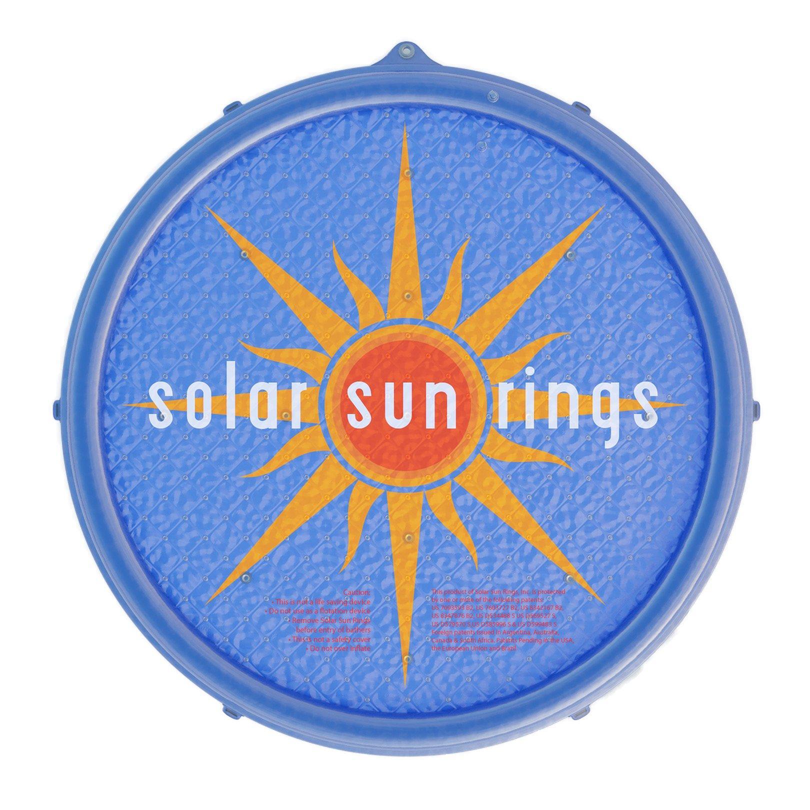 Solar Sun Rings Floating Solar Pool Heater