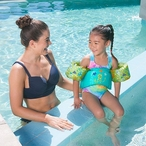 Rogue2 Pool Slide with Right Curve, Gray