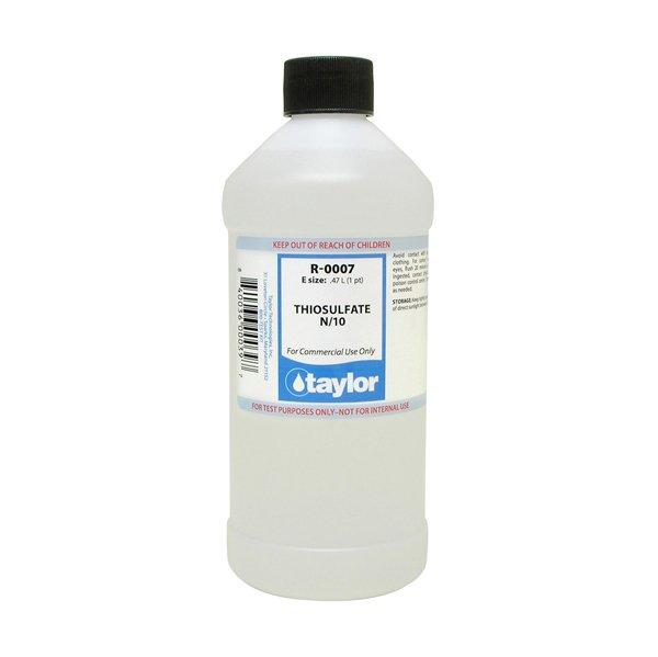 7 R 0007 E 16 Oz Thiosulfate Taylor Pool Water Test Kit Reagent