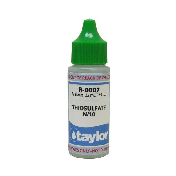 Thiosulfate 7 34 Oz R 0007 A Taylor Pool Water Test Kit Reagent