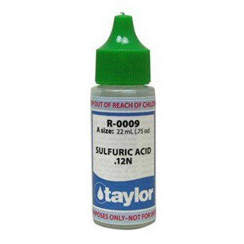 Sulfuric Acid 9 34 Oz R 0009 A Taylor Pool Water Test Kit Reagent