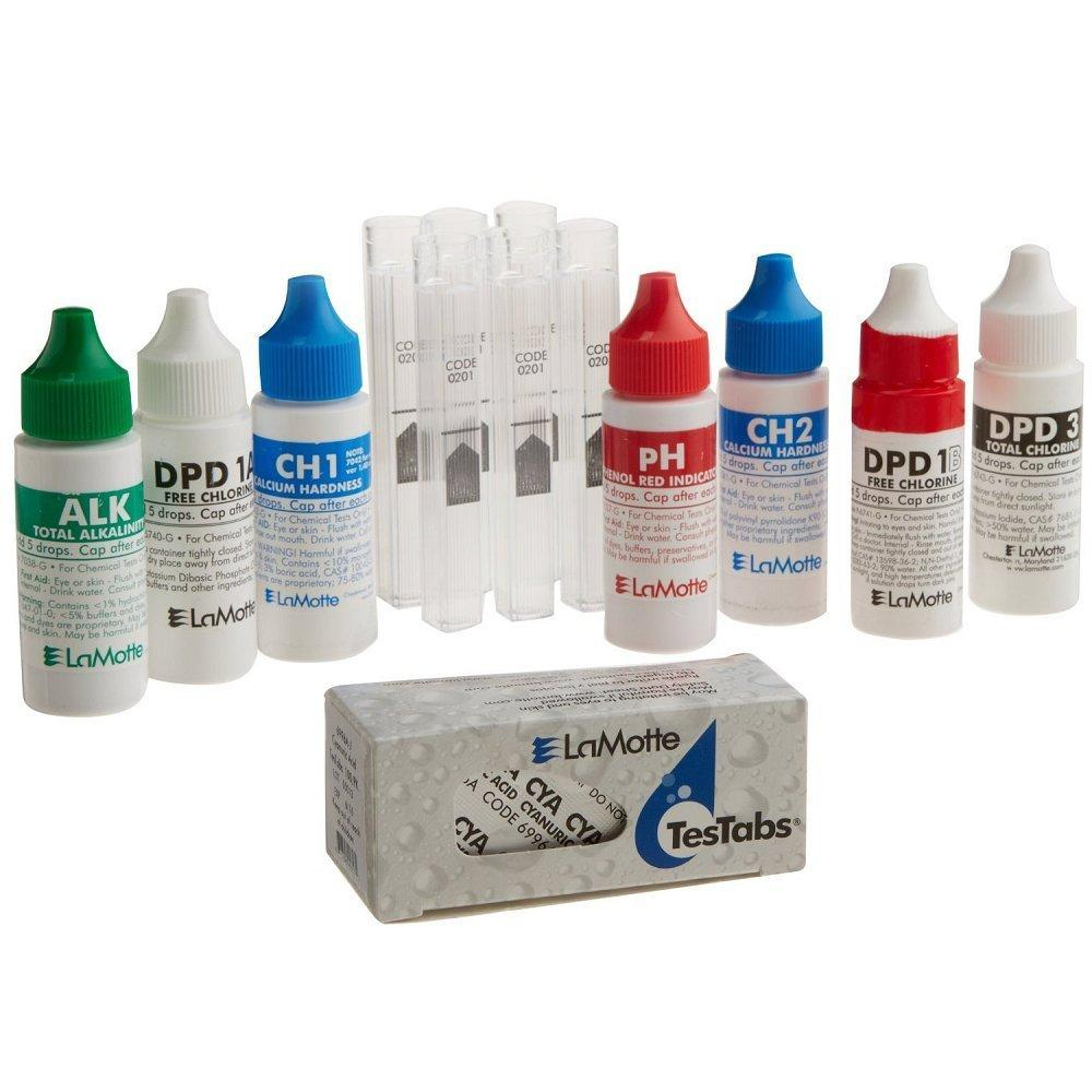 Colorq Pro 7 Pool Water Test Kit Reagent Refill Pack