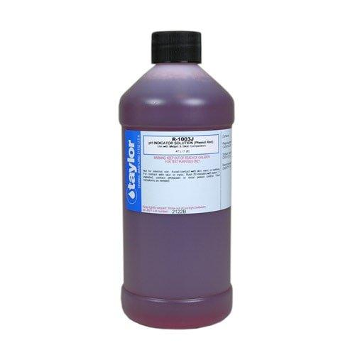 Phenol Red 16 Oz R 1003J E Taylor Pool Water Test Kit Reagent