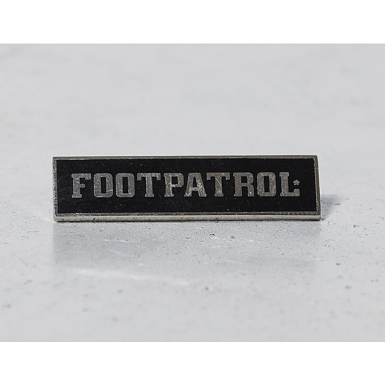 Pintrill for Footpatrol Bar Logo Pin Badge