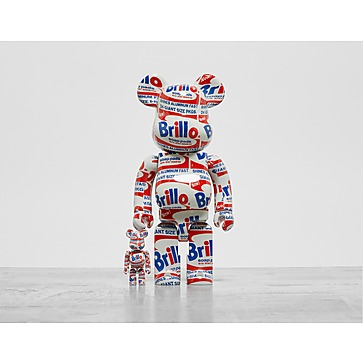 Medicom BE@RBRICK Andy Warhol Brillo 100% & 400%