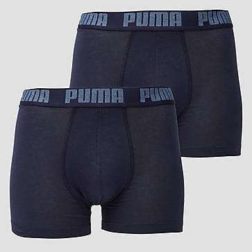 PUMA BASIC BOXERSHORT 2-PACK BLAUW HEREN