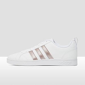 ADIDAS VS ADVANTAGE SNEAKERS WIT/GOUD DAMES