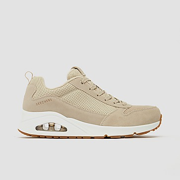 SKECHERS UNO - TWO FOR THE SHOW SNEAKERS BEIGE DAMES