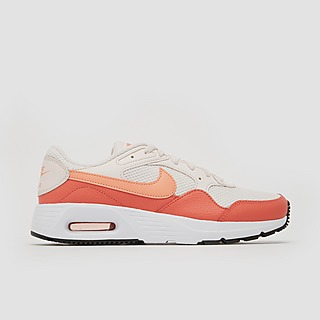 NIKE AIR MAX SC SNEAKERS WIT/ROOD DAMES