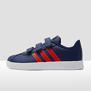 8d42e7f1f0d ADIDAS VL COURT 2.0 SNEAKERS BLAUW/ROOD KINDEREN