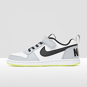 ab5875bd344 NIKE COURT BOROUGH LOW SNEAKERS WIT/GRIJS KINDEREN