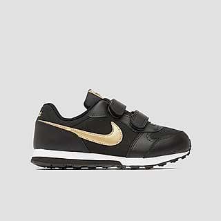 ② Zwarte schoenen Nike maat 31,5 Kinderkleding