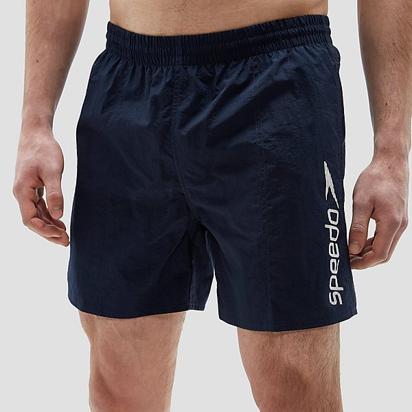 SPEEDO SCOPE 16 BOARDSHORT BLAUW/WIT HEREN