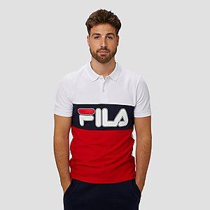 bc5a0fbdceb061 FILA PATENZO COLORBLOCK POLO WIT ROOD HEREN