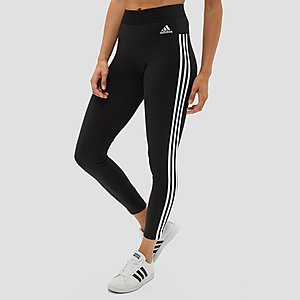 3a1eb253387 ADIDAS ESSENTIALS 3-STRIPES TIGHT ZWART DAMES