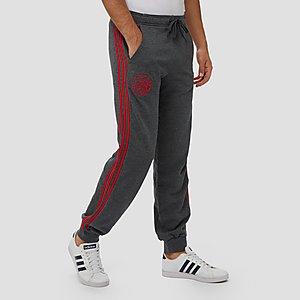 Moderne Joggingbroek Heren.Adidas Afc Ajax Joggingbroek 19 20 Grijs Rood Heren