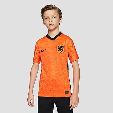 NIKE UEFA EURO 2020/2021 KNVB NEDERLAND BREATHE STADIUM THUISSHIRT 20/22 ORANJE KINDEREN