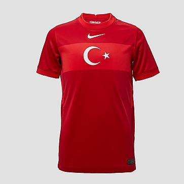 NIKE UEFA EURO 2020/2021 TFF TURKIJE BREATHE STADIUM UITSHIRT 20/22 ROOD KINDEREN
