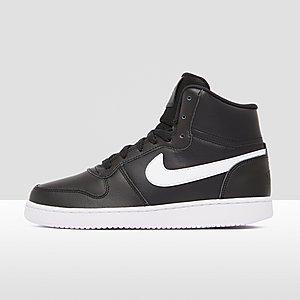 nike sneakers hoog dames zwart