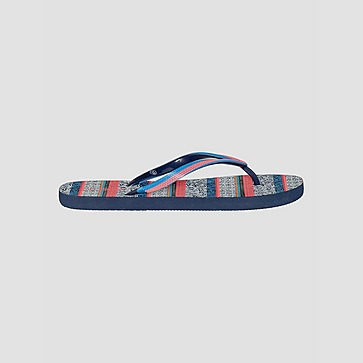 PROTEST ACAI SLIPPERS BLAUW/ROZE DAMES