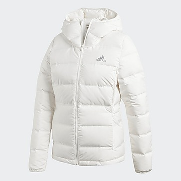 ADIDAS HELIONIC DONS WINTERJAS WIT DAMES