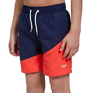 "88be5cafa76 Speedo Colour Block Printed 15"" Junior Swim Shorts ..."