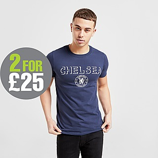 Official Team Chelsea FC Badge T-Shirt