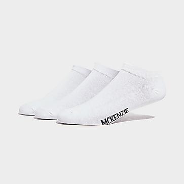McKenzie Three Pack Low Ankle Ped Socks Mens