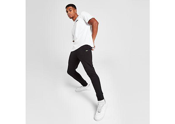 Lacoste Slim Cuffed Fleece Pants - Black - Mens