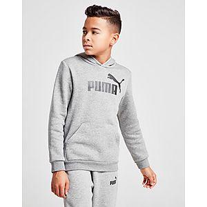 f76c6afa599 PUMA Core Logo Hoodie Junior ...