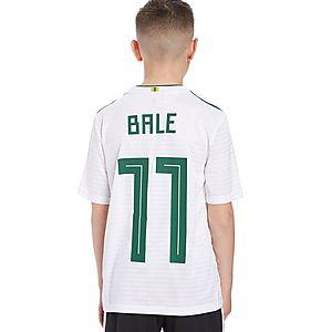 newest 65932 61b5f adidas Wales 2018 Away Bale #11 Shirt Junior