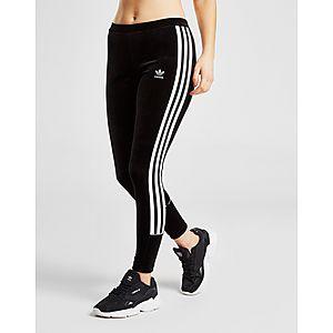 cfaa8c2f14c ... adidas Originals 3-Stripes Velvet Leggings