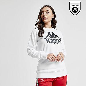 fe62fe2436160 Kappa Logo Boyfriend Crew Sweatshirt