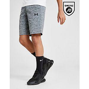 60f06df5e Under Armour Fleece Poly Shorts Junior ...