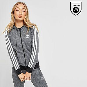 7ba7a160 adidas Originals 3-Stripes Full Zip Hoodie
