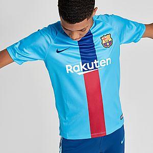 buy popular 20774 322a7 Nike FC Barcelona Squad Shirt Junior