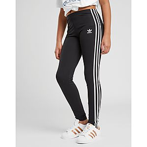 7cc258eac5af9 adidas Originals Girls' Trefoil 3-Stripes Leggings Junior ...