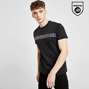 ae5c8482ea Emporio Armani EA7 Central Tape T-Shirt