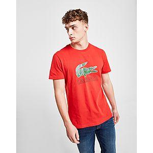 48c5545a Lacoste Large Crocodile Logo Vintage T-Shirt ...
