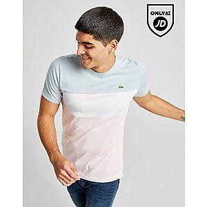 df2addb0 Lacoste Tri Colour Block T-Shirt ...