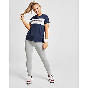 4139354a Tommy Hilfiger Colour Block Logo T-Shirt ...