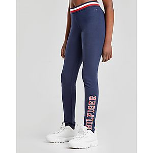 67a8975f77c986 Tommy Hilfiger Girls' Essential Logo Leggings Junior ...