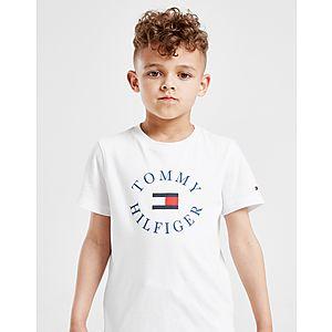 0d193d1b Tommy Hilfiger Print Logo T-Shirt Children ...