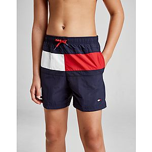 bcd60f995e Tommy Hilfiger Large Flag Swim Shorts Junior ...